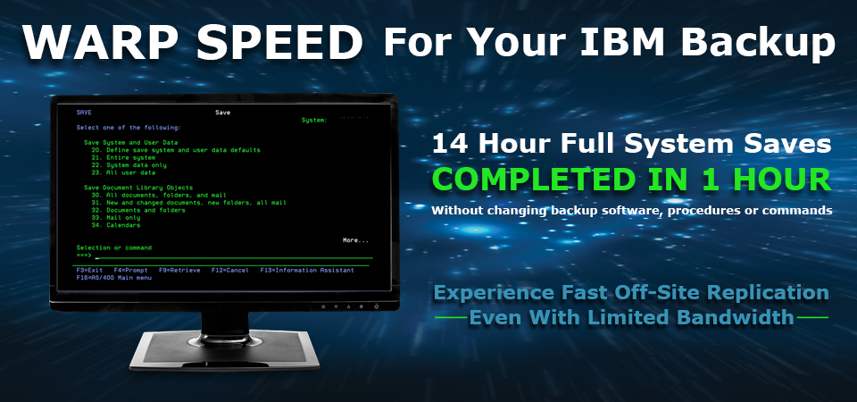 Warp Speed for IBM
